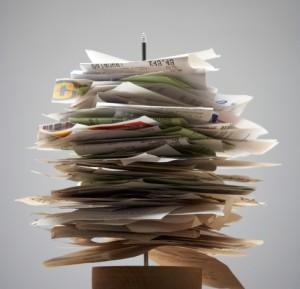 Порядок в домашних бумагах и документах, фото