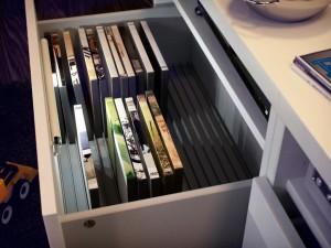 Удобное хранение фильмов, фото